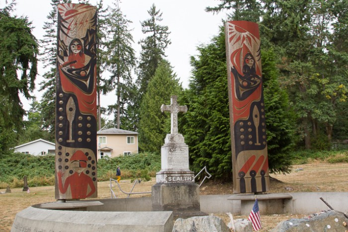 Chief Seattle Grave