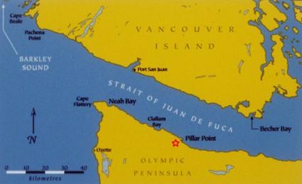 Strait chart