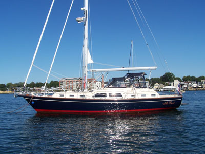 We purchased At Last, an Island Packet 465, hull #2 and the first US ...