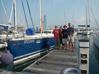 21/02/2012, Yacht Haven Marina, Phuket. Today, we pretty much sorted out all ...