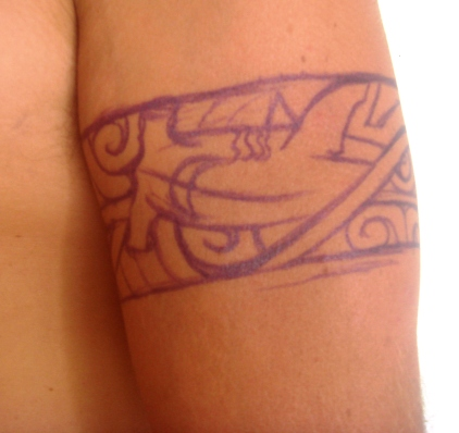 Tattoo will I? jT 07/20/2009, Bora-Bora, Fench Polynesia