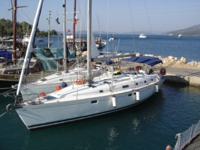 I own a Beneteau Oceanis 461 boat located in Bodrum-Turkey and charter it at ...
