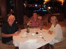A night out with Phil and Norma from SY Minnie B.