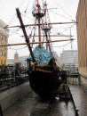 Replica of the Golden Hind