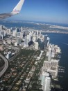 Approaching Miami and ready to switch from the flight from Panama to one going to London.