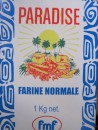 Even the flour tells us we are in paradise.
