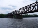 One of the variety of bridges crossing the Hudson River