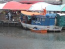 The floating market.