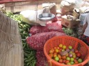 Colombian trader, traveling veggie shop