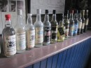 A selection of old bottles