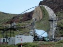 A Gamma Ray detector telescope high in the mountains of La Palma