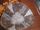 Traditional basket bought in Niafu market.