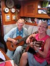 Amanda and Sue play some classical guitar duets.