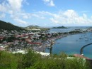 Marigot on the French side of St Martin looking across the Lagoon the Dutch side..JPG