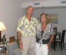 Menno with his Mother on Marco Island