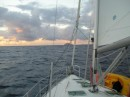 Underway to Statia