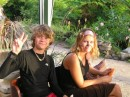 Cameron and Torie (Purrrfection) at the party.JPG