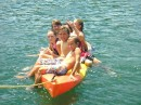 John, Daniel, Allyson, Cameron and Jessie having a kayak day!.JPG