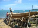 b It takes 8 months to build one of these wooden boats.JPG