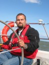 Peter Jarvenpaa at Helm, Mostly Harmless