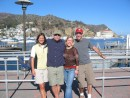 Visit from the Roskas - Brittany and Mike join us in Los Angeles for a sail over to Catalina Island and a few nights aboard Hiatus.