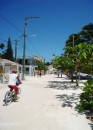 Cay Caulker – One of the 2 main sandy streets in town.