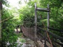 Ricon de la Vieja National Park, Costa Rica � Bridge to cross one of the rivers in the park.