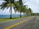 San Andres Island - Touring the island by golf cart at a whopping 20 MPH.