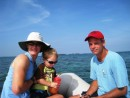 Rosario Islands, Columbia – Lara, Cobin and Joe. They stayed with us for 2 weeks, joining in the San Blas Islands in Panama and sailing to Cartagena, Columbia and then visiting the Rosario Islands off the Columbian coast.