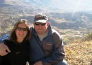 Heather and Kent in Colca Canyon.