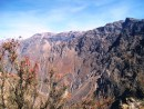 Colca Canyon. This is the viewpoint where we waited early in the morning to catch a glimpse of the Andean Condors.