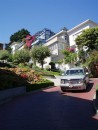 "Ok, so everyone takes this same photo...  This is Lombard street - ""The crookedest street in the world."""