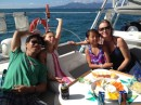 It was great to have Karl and his family visit us in PV for a day sail