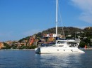 Speakeasy anchored of Playa La Ropa in Zihuatanejo