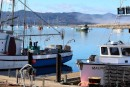 Morro Bay is a fishing village that has a touristy side as well