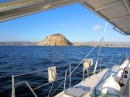 Arriving at Morro Bay after an overnight passage from Monterey