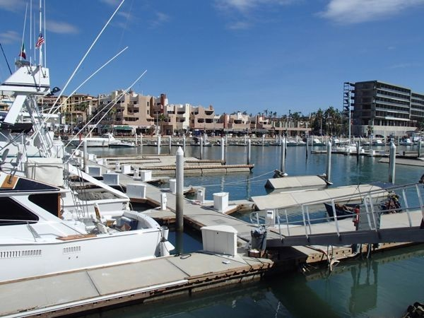 Several of the docks in Cabo were damaged by hurricane odille