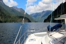 Entering Princess Louisa Inlet