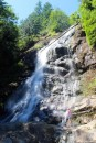 A strenous hike from the Toba Wildernest Marina takes you to this waterfall