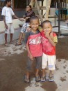 Gorgeous brothers at the orphanage.