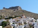 The Venetian castle on top of Leros Is