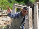 Our guide at Ephesus