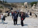 Brian and Marion at Ephesus