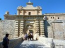 Entrance to Mdina town, Malta