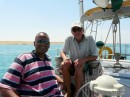 Our Pilot for the Suez canal.
