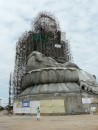 Soon to be the worlds largest marble Buddha.