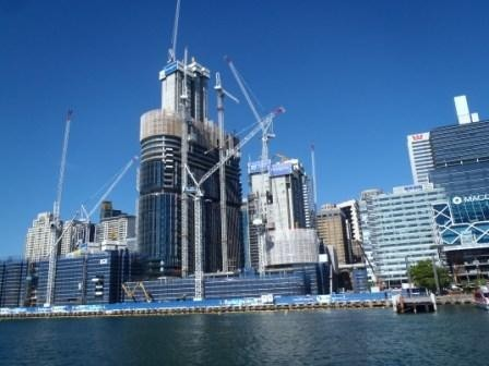 Nog meer wolkenkrabbers darling harbour
