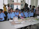 "Schools from all over the island learning about ""Achieving Food Security in a time of crises!"