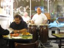 We had the most fabulous dinner...not cuban but Nicaraguan!  Excellent company, music (Cuban) and food.