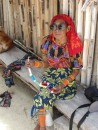 Puna Bebe in shades. She was one of our favorite ladies in the San Blas.